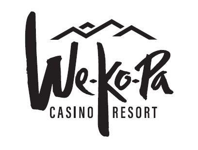 We-Ko-Pa Casino Resort Logo Dark text on light background